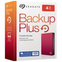 """SeagateEHDD 4TB SG 2.5"""" BUP USB 3.0 RED"""