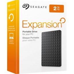 """SeagateEHDD 2TB SG 2.5"""" EXPANSION USB 3.0 BK"""